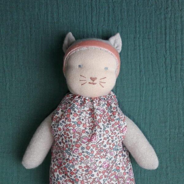 La petite souris grise en Liberty, un kit Pique & Colegram
