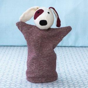la marionnette Oscar, une marionnette à main à faire soi-même