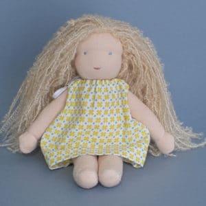 Bergamote, poupée Waldorf à faire soi-même
