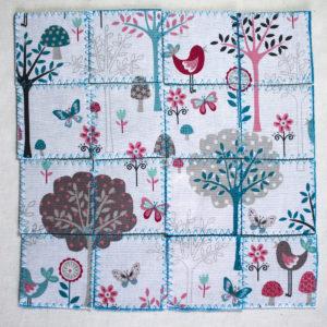 puzzle du printemps, un jeu tout doux à faire soi-même
