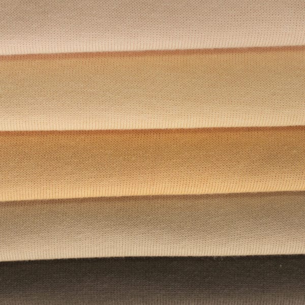 jersey peau épais en coupon, pour la réalisation du corps des poupées Waldorf