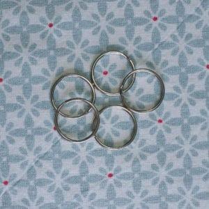 anneau métal pour créer vos propres porte-clés