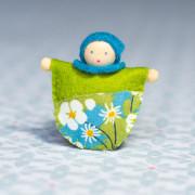 La poupée broche, toute petite poupée à faire soi-même