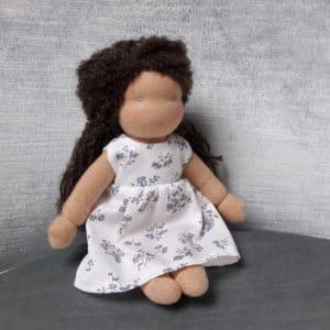 Marjolaine, poupée Waldorf