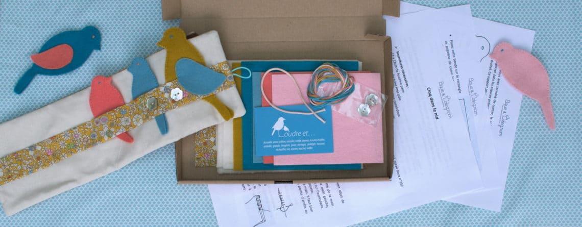 des kits à faire soi-même, le concept de Pique & Colegram