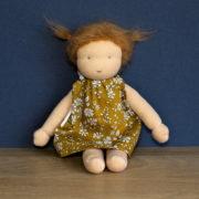 Camomille, un kit poupée Waldorf Pique & Colegram