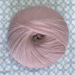 pelote de laine BB mérinos Fonty rose pâle