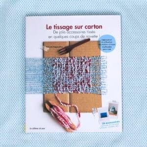 Le tissage sur carton de Harumi Kageyama aux éditions de Saxe