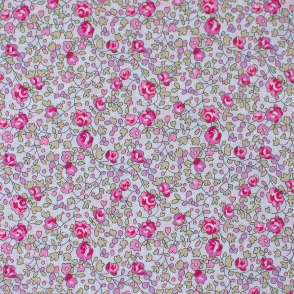 tissu Liberty Eloïse rose