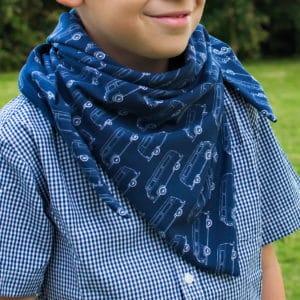 kit facile de chèche à faire soi-même en jersey de coton bio