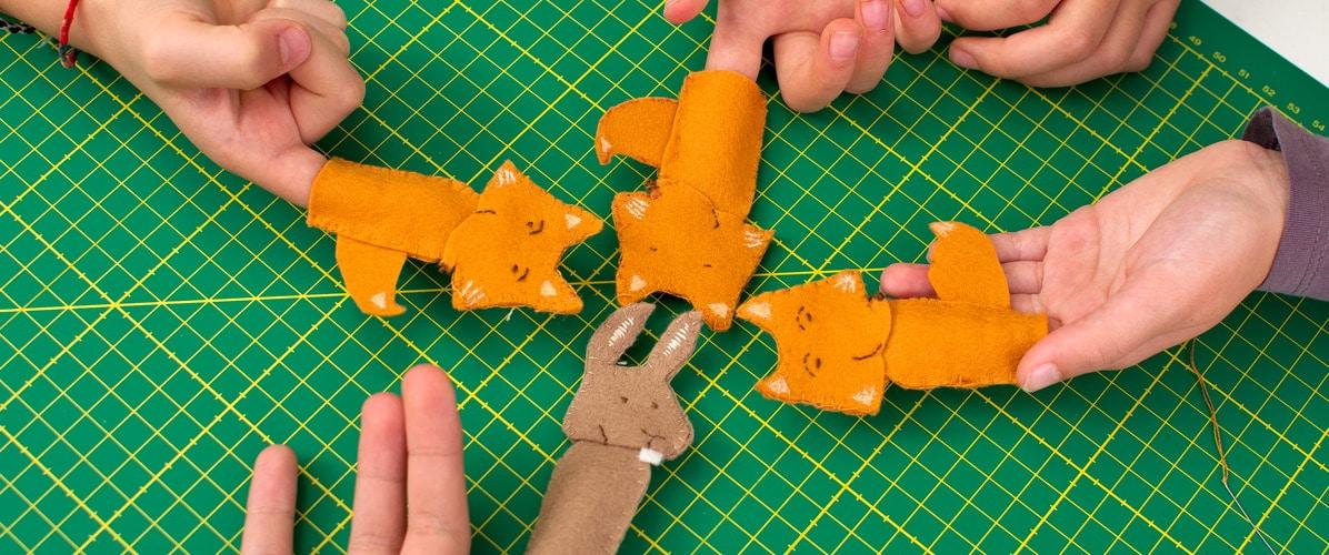 Atelier marionnettes à doigt