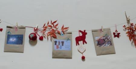 bientôt noël: suspension de kits pique et colegram et de modèles réalisés sur le thème de noel