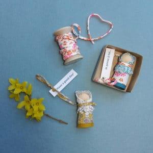 Les poupées mots doux, un kit Pique & Colegram