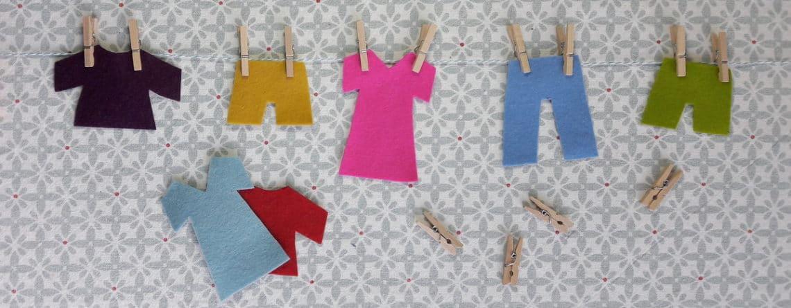 Montessori et les pinces à linge