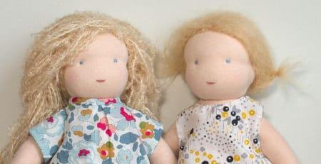 prochains ateliers poupées Waldorf organisés par Pique & Colegram