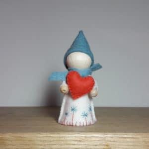 le lutin du coeur, un kit Pique & Colegram