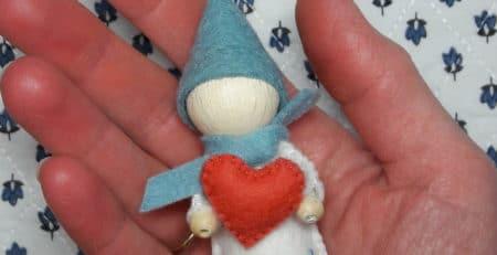 le lutin du coeur, un lutin pour la saint valentin!