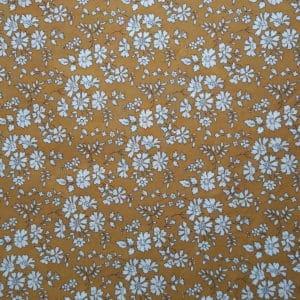 tissu Liberty Capel moutarde