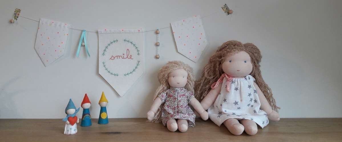 Les poupées Pique & Colegram passent à La Maison des Maternelles !