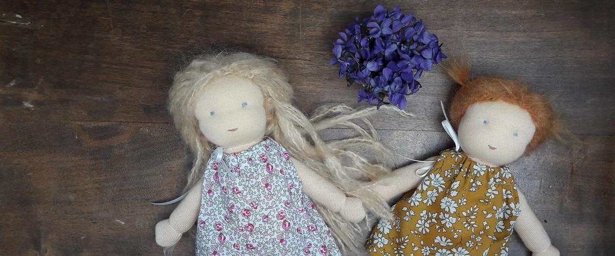 Du nouveau dans les kits poupées Waldorf