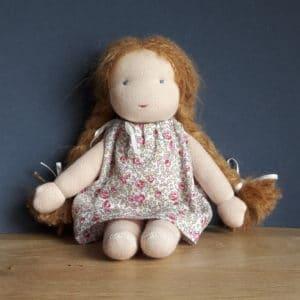 Citronnelle, kit poupée Waldorf à faire soi-même
