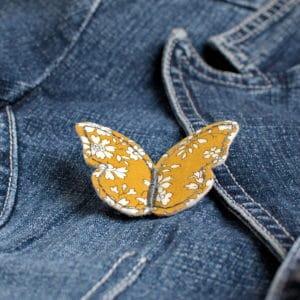 kit de la broche papillon, vendu seul ou inclus dans la box créative Rêve