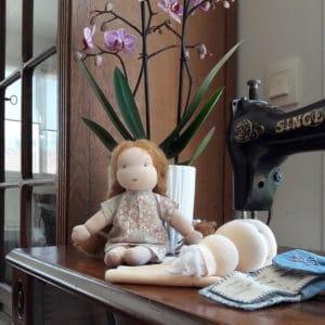 citronnelle poupée Waldorf Pique & Colegram