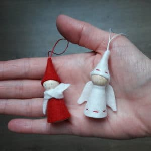 Atelier anges et lutins de Noël