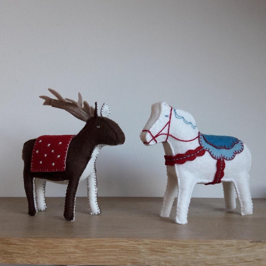 Atelier renne et cheval de Dala