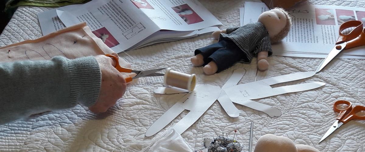 Les ateliers poupées Waldorf de février mars avril 2019