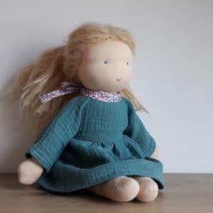 robe Eloïse pour les poupées Pique & Colegram de 32cm