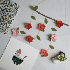 la box créative Jardin secret, proposée par Pique & Colegram