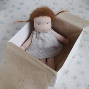 Petite Centaurée, poupée Waldorf réalisée par Pique & Colegram