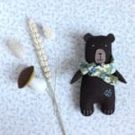 L'ours Gustave, un kit Pique & Colegram