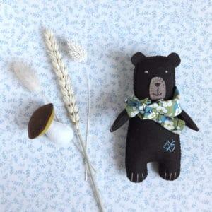 L'ours Gustave, un kit Pique & Colegram