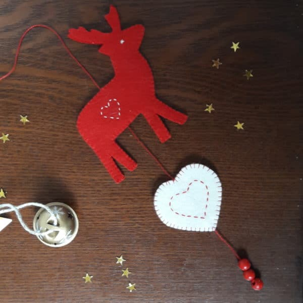 atelier petite guirlande de Noël avec Pique & Colegram