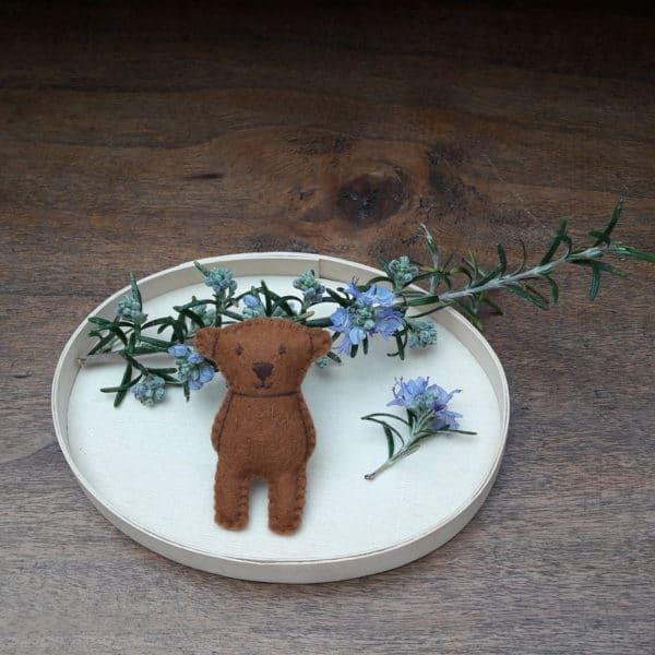 Petit Ours, un ourson en kit à faire soi-même