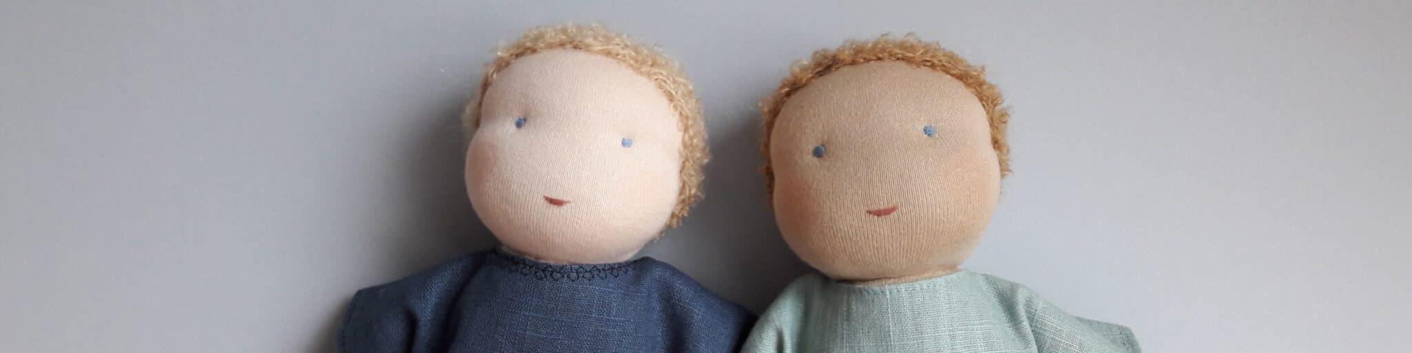 Les poupées réalisées