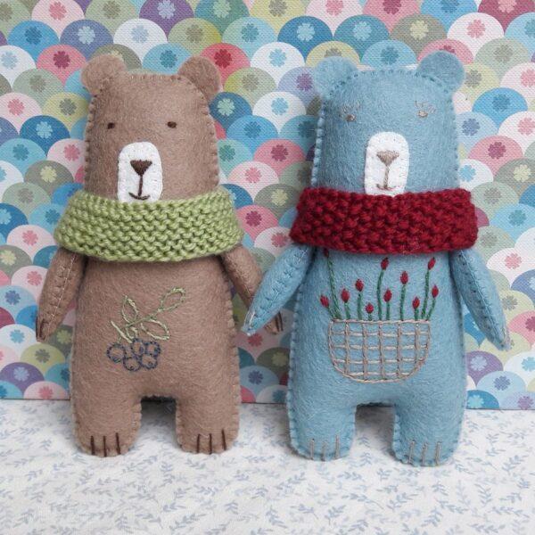Arsène et Joséphine, les ours Pique & Colegram