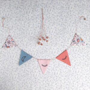 Atelier mini guirlande de fanions
