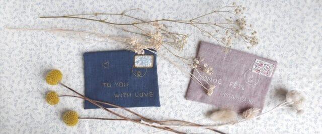 L'enveloppe mots doux, un kit Pique & Colegram