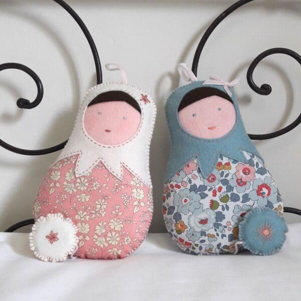 poupées musicales créées par Pique & Colegram